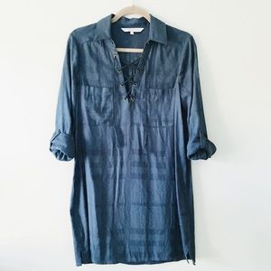 Dresses & Skirts - teal plaid tunic
